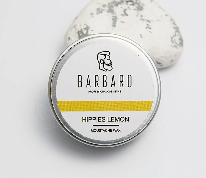 Воск для усов barbaro hippies lemon 12 г