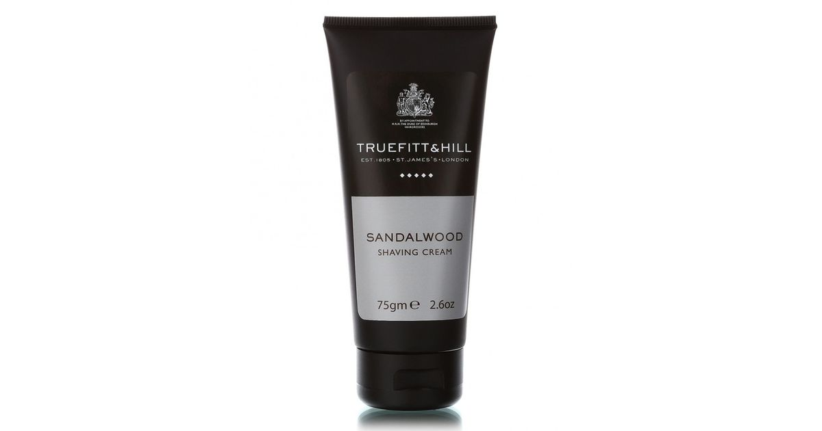 Крем для бритья truefitt & hill sandalwood в тюбике 75 г