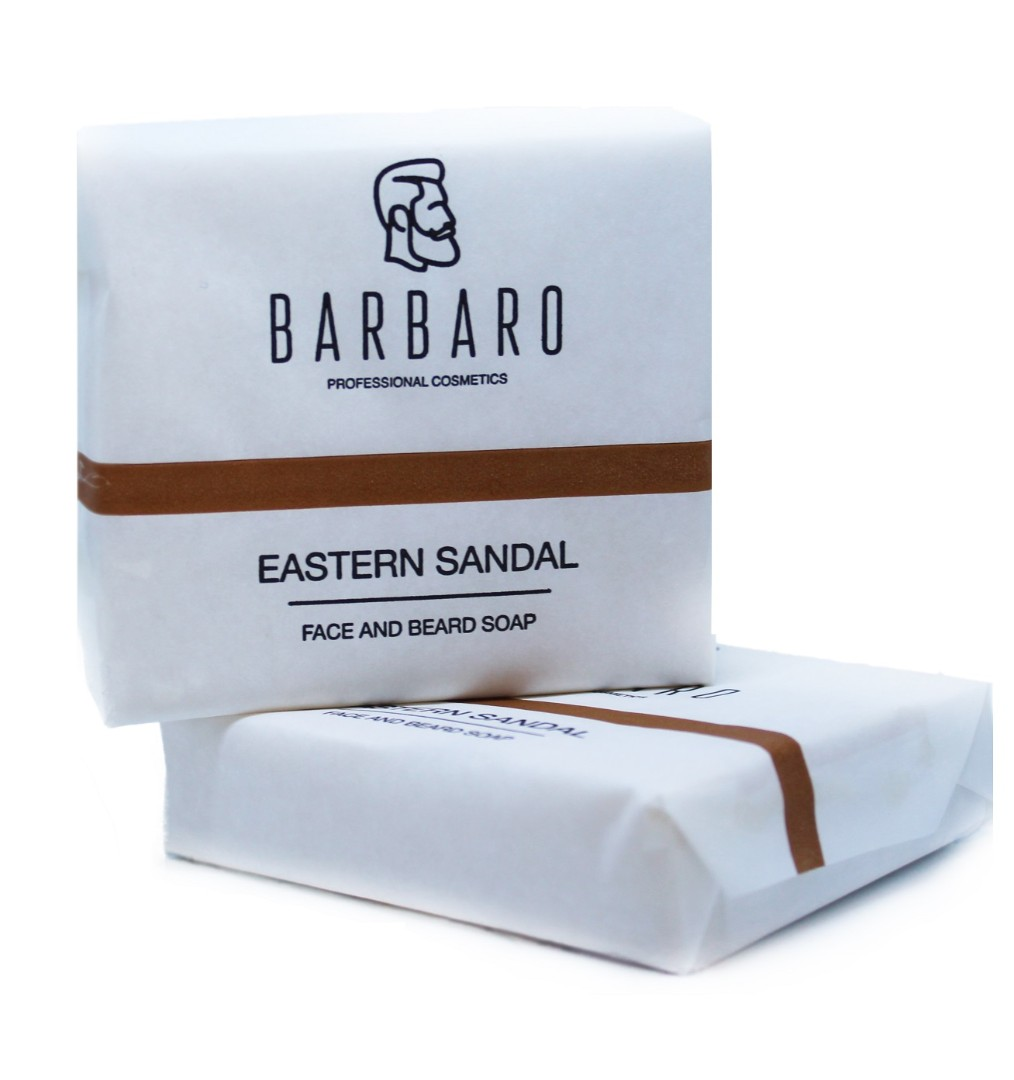 Barbaro face & beard soap - мыло для лица и бороды